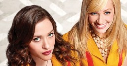Bannière du sitcom 2 Broke Girls