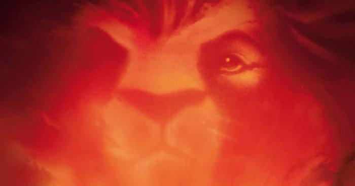 Affiche française du film Le Roi lion (The Lion King), 43e long-métrage d'animation et 32e « Classique d'animation » des studios Disney