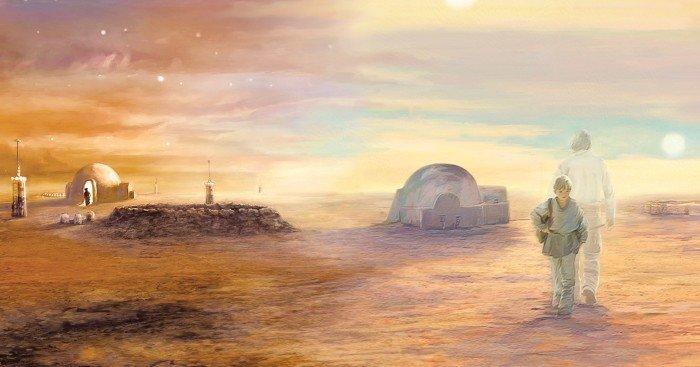 Covert Art pour la Saga Complète de Star Wars