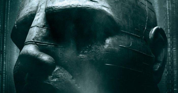 Affiche française du film Prometheus réalisé par Ridley Scott