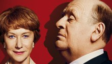 Affiche française du film réalisé par Sacha Gervasi avec Helen Mirren et Anthony Hopkins