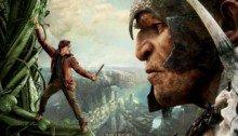 Affiche française du film Jack le chasseur de géants réalisé par Bryan Singer avec Nicholas Hoult