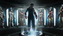 Poster teaser d'Iron Man 3 avec Robert Downey Jr.