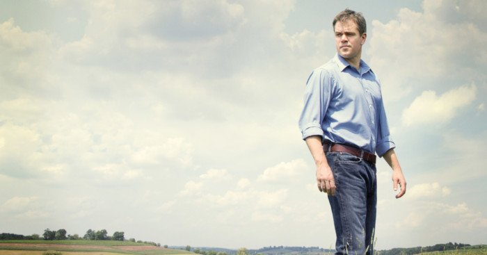 Affiche française du film Promised Land avec Matt Damon