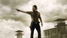 Poster de la saison 3 de The Walking Dead avec Rick Grimes