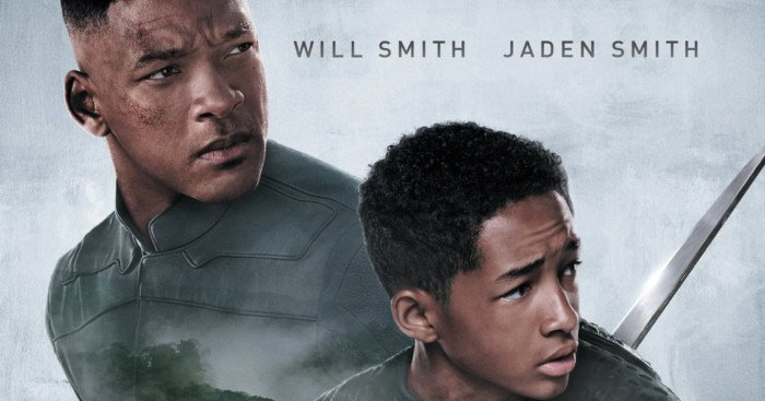 After Earth Affiche