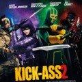 Poster du film Kick-Ass 2 avec Taylor-Johnson, Mintz-Plasse, Moretz et Carrey