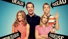 Affiche française du film Les Miller, une famille en herbe réalisé par Rawson Marshall Thurber avec Jennifer Aniston et Jason Sudeikis
