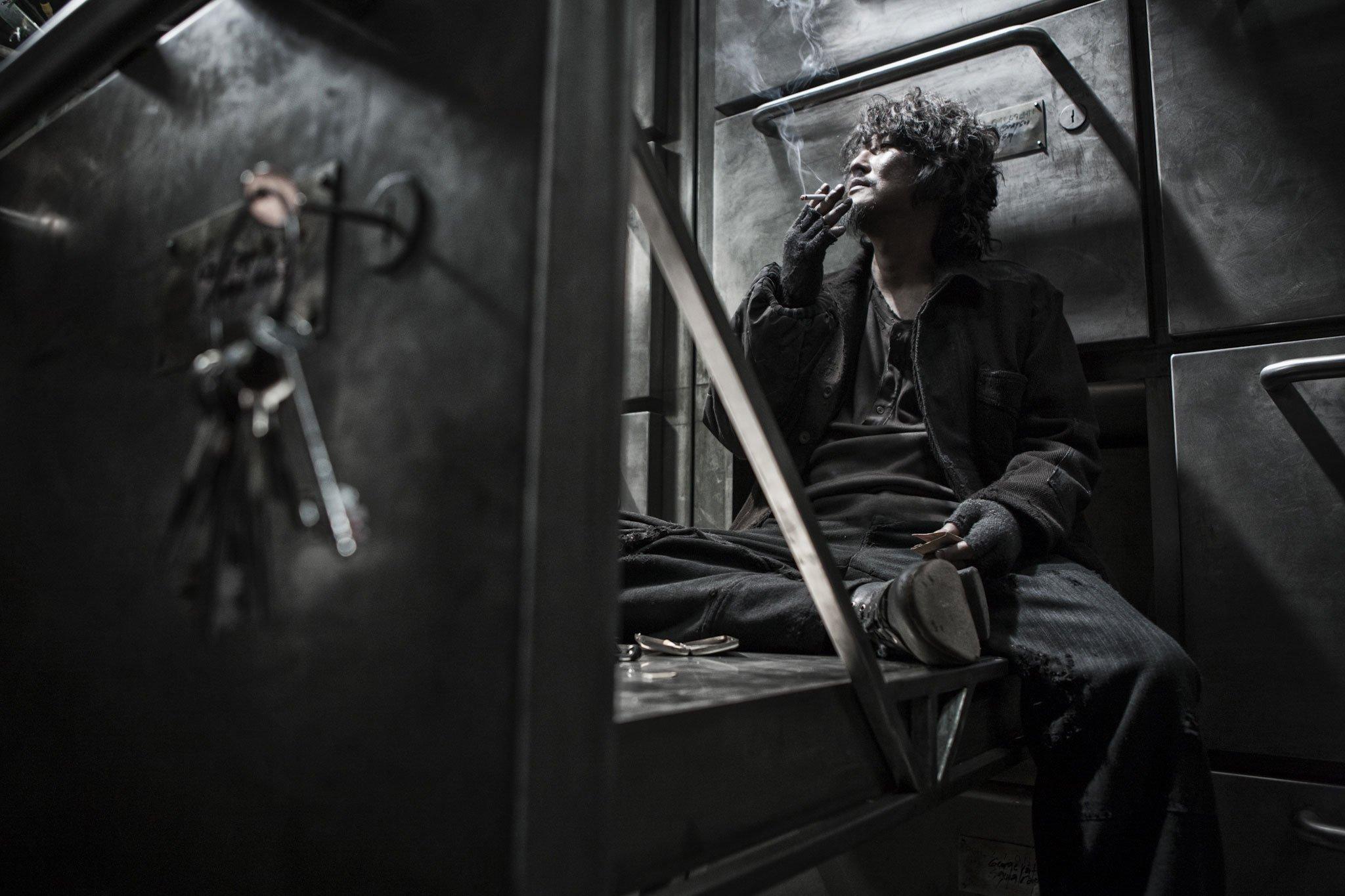 Photo de Snowpiercer, Le Transperceneige avec Song Kang-ho