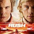 Affiche française du film Rush de Ron Howard avec Chris Hemsworth et Daniel Brühl