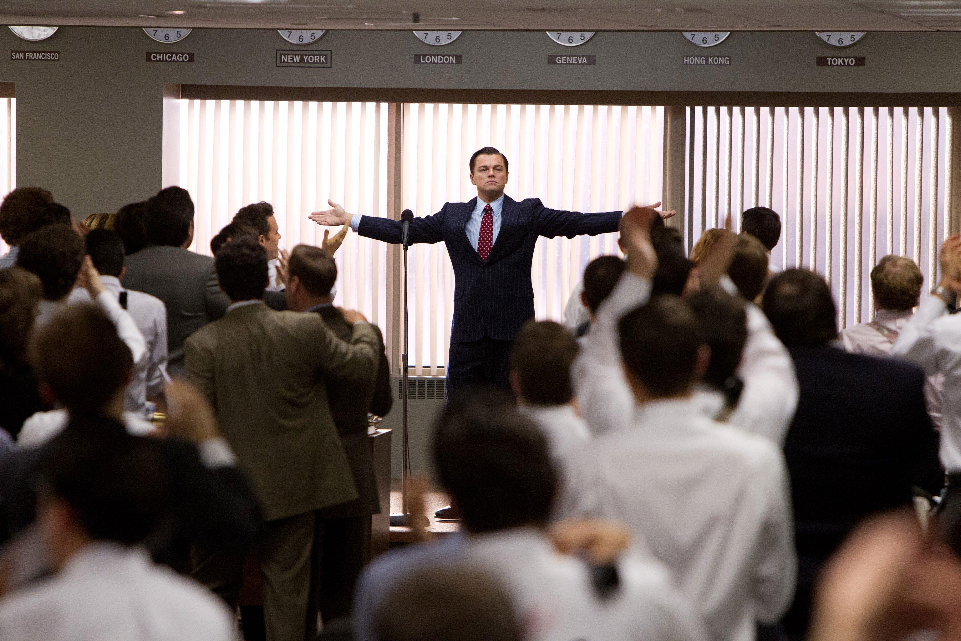Photo du film Le Loup de Wall Street réalisé par Martin Scorsese avec Leonardo DiCaprio
