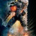 Poster du film Pacific Rim réalisé par Guillermo del Toro avec le Jaeger Gipsy Danger