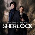 Poster de la saison 3 de la série Sherlock avec Benedict Cumberbatch (Sherlock Holmes) et Martin Freeman (Docteur Watson)