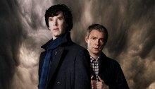 Poster de la saison 3 de la série Sherlock