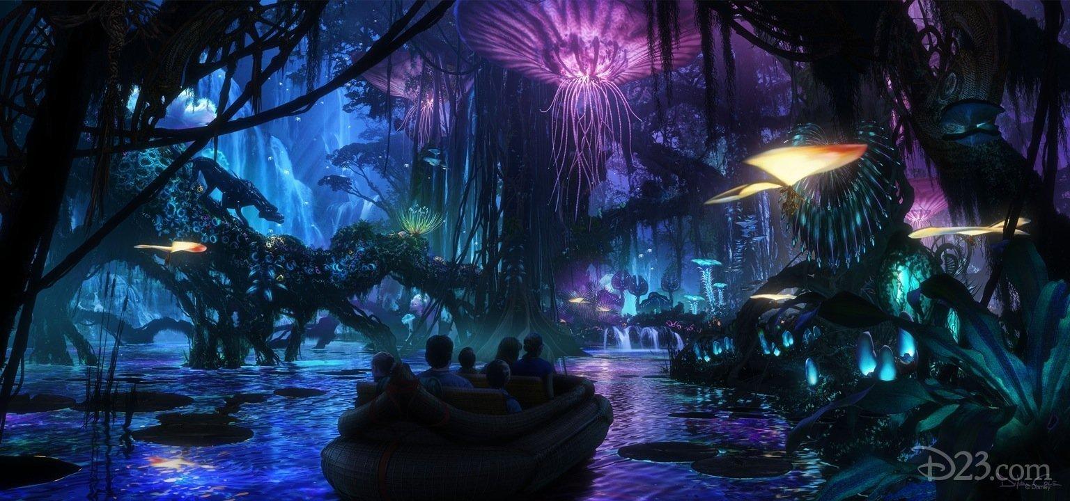 Photo de l'attraction Disney pour le film Avatar