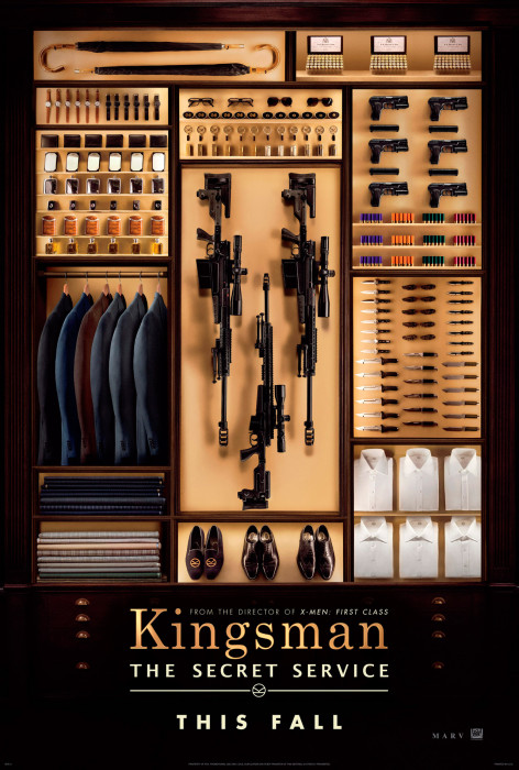 Kingsman : Services Secrets Poster teaser
