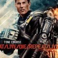 Poster du film Edge of Tomorrow réalisé par Doug Liman avec Bill Cage (Tom Cruise)