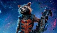 Affiche du film Les Gardiens de la galaxie avec Rocket