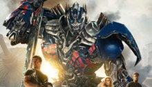 Affiche du film Transformers : l'âge de l'extinction réalisé par Michael Bay avec Mark Wahlberg, Nicola Peltz et Jack Reynor