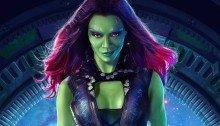 Poster Les Gardiens de la galaxie Gamora
