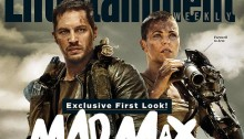 Entertainment Weekly Couverture Mad Max : Fury Road