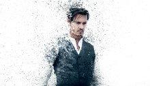 Affiche française du film Transcendance réalisé par Wally Pfister avec Johnny Depp