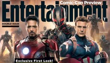 Entertainment Weekly Couverture Avengers : Age of Ultron