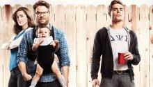 Affiche française du film Nos pires voisins réalisé par Nicholas Stoller avec Seth Rogen, Rose Byrne et Zac Efron
