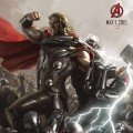 Poster Comic-Con Avengers: Age of Ultron avec Thor