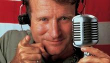 Photo de Robin Williams dans Good Morning Vietnam
