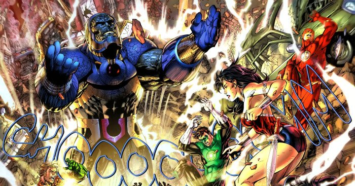 Image de la Justice League contre Darkseid