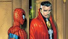 Image de Doctor Strange rencontrant Spider-Man