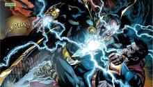 Image d'Ultraman contre Black Adam