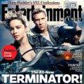 Couverture d'Entertainment Weekly avec Terminator: Genisys avec Emilia Clarke et Jai Courtney