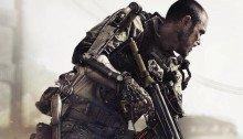 Poster du jeu vidéo Call of Duty: Advanced Warfare, un jeu vidéo de tir subjectif développé par le studio Sledgehammer Games et édité par Activision