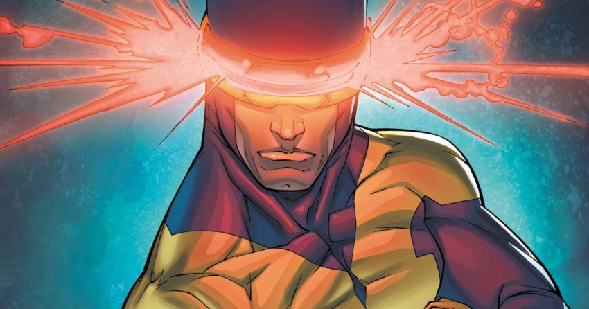 Image du X-Men Cyclope en comic, personnage de Marvel