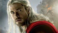Affiche du film Avengers: l'Ère d'Ultron écrit et réalisé par Joss Whedon avec Thor (Chris Hemsworth)