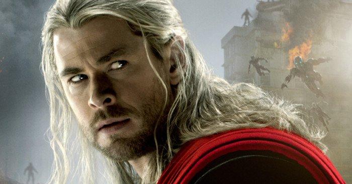Affiche du film Avengers: l'Ère d'Ultron écrit et réalisé par Joss Whedon avec Thor