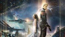 Poster du film Jupiter: Le Destin de l'univers réalisé par Andy Wachowski, Lana Wachowski avec Mila Kunis et Channing Tatum