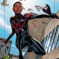 Couverture d'Ultimate Comics Spider-Man Miles Variant