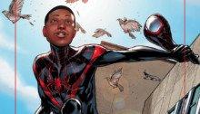 Couverture d'Ultimate Comics Spider-Man Miles Variant