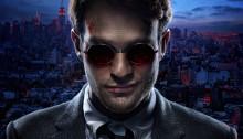 Poster de la série Daredevil produite par Marvel Television
