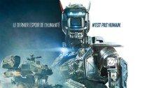 Affiche française du film Chappie réalisé par Neil Blomkamp avec Hugh Jackman et Dev Patel