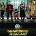 Poster de la version porno de Les Gardiens de la Galaxie, Gnardians of the Galaxy