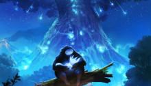 Poster du jeu vidéo Ori and the Blind Forest édité par Microsoft Studios et développé par Moon Studio