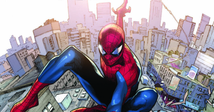 Couverture d'Amazing Spider-Man Vol 1 700 Coipel Variant