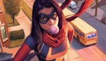 Couverture de Miss Marvel Vol 3 2 (Molina Variant)
