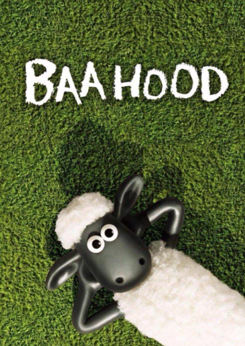 poster parodie shaun le mouton le film boyhood. Black Bedroom Furniture Sets. Home Design Ideas