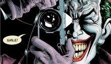 Couverture du comic The Killing Joke écrit par Alan Moore et dessiné par Brian Bolland