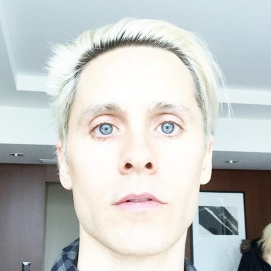 Photo de la transformation de l'acteur Jared Leto en Joker